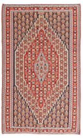 キリム センネ 絨毯 150X245 オリエンタル 手織り 茶/錆色 (ウール, ペルシャ/イラン)