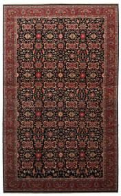 Malayer 絨毯 505X817 オリエンタル 手織り 濃い茶色/深紅色の 大きな (ウール, ペルシャ/イラン)