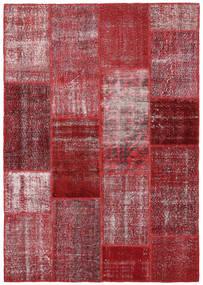 パッチワーク 絨毯 164X234 モダン 手織り 深紅色の/紫 (ウール, トルコ)
