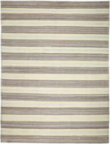 キリム Ariana 絨毯 280X363 モダン 手織り 薄い灰色/ベージュ 大きな (ウール, アフガニスタン)