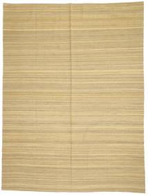 キリム モダン 絨毯 214X285 モダン 手織り 暗めのベージュ色の/ベージュ (ウール, アフガニスタン)