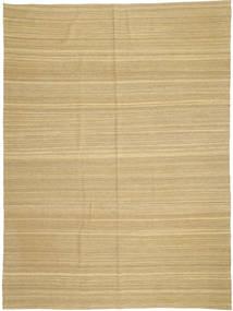 キリム モダン 絨毯 210X279 モダン 手織り 暗めのベージュ色の/黄色 (ウール, アフガニスタン)