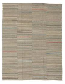 キリム モダン 絨毯 152X195 モダン 手織り 薄い灰色 (ウール, アフガニスタン)