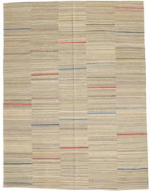 キリム モダン 絨毯 183X240 モダン 手織り 薄い灰色/ベージュ (ウール, アフガニスタン)