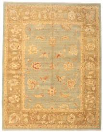 ウサク 絨毯 308X393 オリエンタル 手織り 暗めのベージュ色の/薄茶色 大きな (ウール, トルコ)