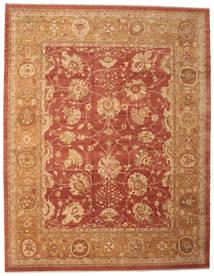 ウサク 絨毯 382X493 オリエンタル 手織り 薄茶色/赤 大きな (ウール, トルコ)