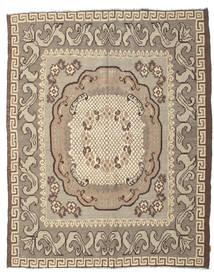 薔薇 キリム Moldavia 絨毯 217X282 オリエンタル 手織り 薄い灰色/ベージュ (ウール, モルドバ)