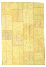 パッチワーク 絨毯 158X236 モダン 手織り 黄色/暗めのベージュ色の (ウール, トルコ)