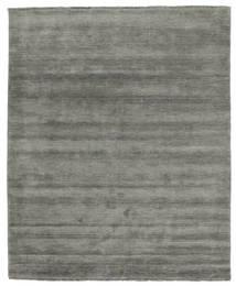 ハンドルーム Fringes - 濃いグレー 絨毯 200X250 モダン 濃いグレー (ウール, インド)