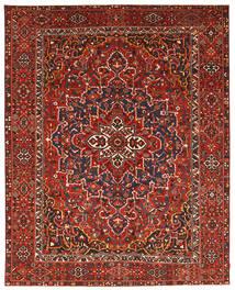 バクティアリ パティナ 絨毯 337X431 オリエンタル 手織り 深紅色の/錆色 大きな (ウール, ペルシャ/イラン)