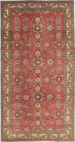 タブリーズ パティナ 絨毯 168X318 オリエンタル 手織り 深紅色の/薄茶色 (ウール, ペルシャ/イラン)