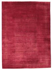 ギャッベ Loribaft 絨毯 203X278 モダン 手織り 赤/深紅色の (ウール, インド)