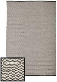Diamond - 黒/白 絨毯 250X300 モダン 手織り 薄い灰色/濃いグレー 大きな (綿, インド)