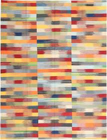 キリム モダン 絨毯 219X286 モダン 手織り 暗めのベージュ色の/錆色 (ウール, アフガニスタン)