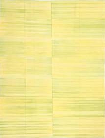 キリム モダン 絨毯 216X286 モダン 手織り 黄色 (ウール, アフガニスタン)