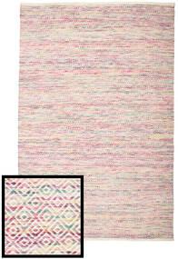 Hugo - Multi ピンク 絨毯 200X300 モダン 手織り 薄い灰色/薄紫色 ( インド)