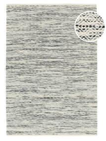 Hugo - 黒/グレー 絨毯 160X230 モダン 手織り 薄い灰色/暗めのベージュ色の ( インド)
