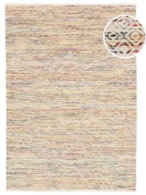 Hugo - Multi 絨毯 140X200 モダン 手織り 黄色/暗めのベージュ色の ( インド)