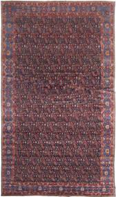 センネ 絨毯 368X639 オリエンタル 手織り 濃い茶色/紫 大きな (ウール, ペルシャ/イラン)