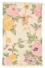 キリム カラバフ Amira - ベージュ/Off-白 絨毯 100X160 モダン 手織り ベージュ/暗めのベージュ色の (ウール, インド)