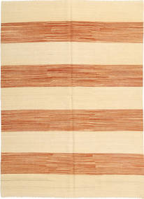 キリム モダン 絨毯 171X237 モダン 手織り ベージュ/薄茶色 (ウール, アフガニスタン)