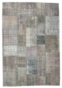 パッチワーク 絨毯 205X299 モダン 手織り 薄い灰色/濃いグレー (ウール, トルコ)