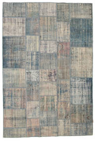 パッチワーク 絨毯 203X301 モダン 手織り 薄い灰色/濃いグレー (ウール, トルコ)
