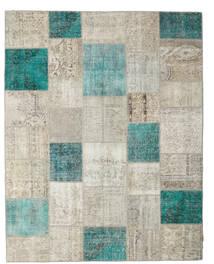パッチワーク 絨毯 235X302 モダン 手織り 薄い灰色/暗めのベージュ色の (ウール, トルコ)