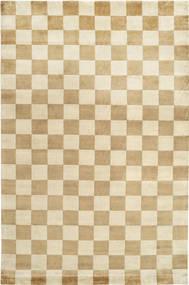 Himalaya 絨毯 220X330 モダン 手織り 暗めのベージュ色の/ベージュ ( インド)