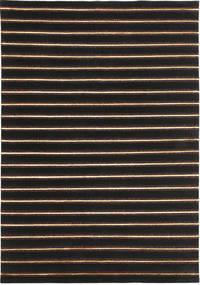 Himalaya 絨毯 170X246 モダン 手織り 黒/濃い茶色 ( インド)