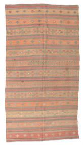 キリム セミアンティーク トルコ 絨毯 170X320 オリエンタル 手織り 薄茶色/薄い灰色 (ウール, トルコ)
