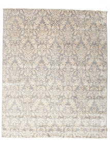Himalaya 絨毯 242X297 モダン 手織り 薄い灰色/ベージュ ( インド)