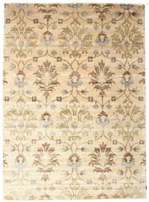 Himalaya 絨毯 263X361 モダン 手織り ベージュ/暗めのベージュ色の 大きな (ウール/バンブーシルク, インド)