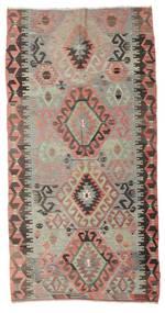 キリム セミアンティーク トルコ 絨毯 168X323 オリエンタル 手織り 薄い灰色/深紅色の (ウール, トルコ)