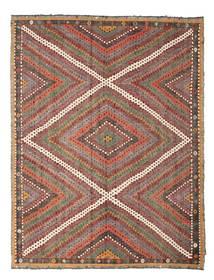 キリム セミアンティーク トルコ 絨毯 210X271 オリエンタル 手織り 薄茶色/深紅色の (ウール, トルコ)