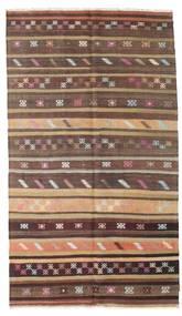 キリム セミアンティーク トルコ 絨毯 166X290 オリエンタル 手織り 深紅色の/濃い茶色 (ウール, トルコ)