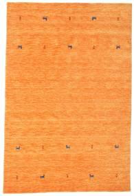 ギャッベ ルーム Two Lines - オレンジ 絨毯 190X290 モダン オレンジ (ウール, インド)