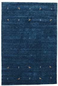 ギャッベ ルーム Two Lines - 紺色の 絨毯 160X230 モダン 紺色の (ウール, インド)