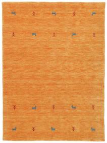 ギャッベ ルーム Two Lines - オレンジ 絨毯 140X200 モダン オレンジ (ウール, インド)