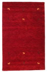 ギャッベ ルーム Two Lines - 赤 絨毯 100X160 モダン 赤/深紅色の (ウール, インド)