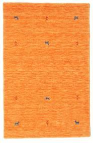ギャッベ ルーム Two Lines - オレンジ 絨毯 100X160 モダン オレンジ (ウール, インド)