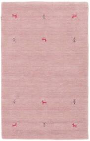 ギャッベ ルーム Two Lines - ピンク 絨毯 100X160 モダン ライトピンク (ウール, インド)