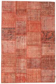 パッチワーク 絨毯 197X300 モダン 手織り 赤/ライトピンク (ウール, トルコ)
