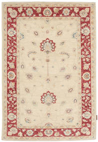 Ziegler 絨毯 117X182 オリエンタル 手織り ベージュ/暗めのベージュ色の (ウール, パキスタン)