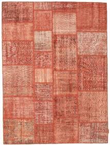 パッチワーク 絨毯 170X231 モダン 手織り ライトピンク/赤 (ウール, トルコ)