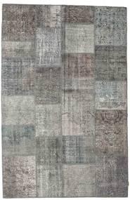 パッチワーク 絨毯 197X303 モダン 手織り 濃いグレー/薄い灰色 (ウール, トルコ)