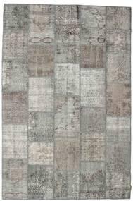 パッチワーク 絨毯 198X300 モダン 手織り 薄い灰色/濃いグレー (ウール, トルコ)