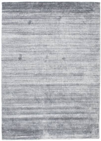 Bamboo シルク ルーム - Denim 青 絨毯 140X200 モダン 水色/薄い灰色 (ウール/バンブーシルク, インド)