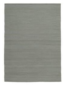 キリム ルーム - グレー 絨毯 200X300 モダン 手織り 薄い灰色 (ウール, インド)
