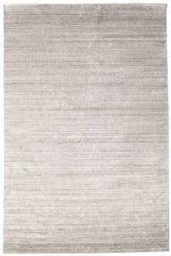Bamboo シルク ルーム - Warm グレー 絨毯 200X300 モダン 薄い灰色 ( インド)